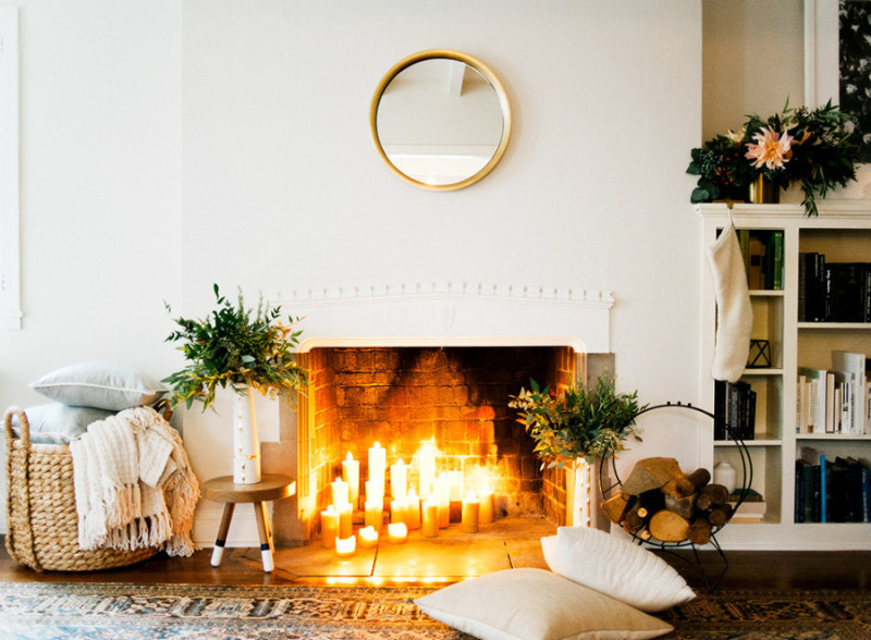 Fireplace Ideas for Holidays