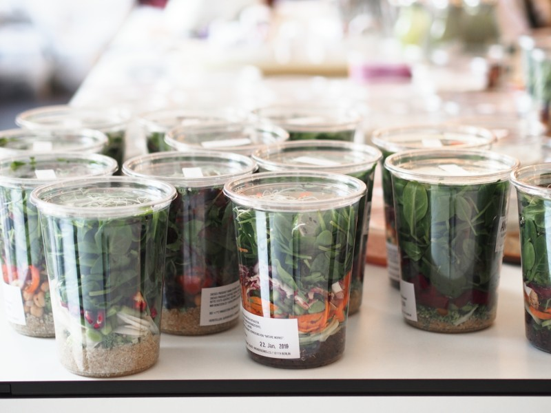 A day with Marc Cain in Berlin (salad in Jars)