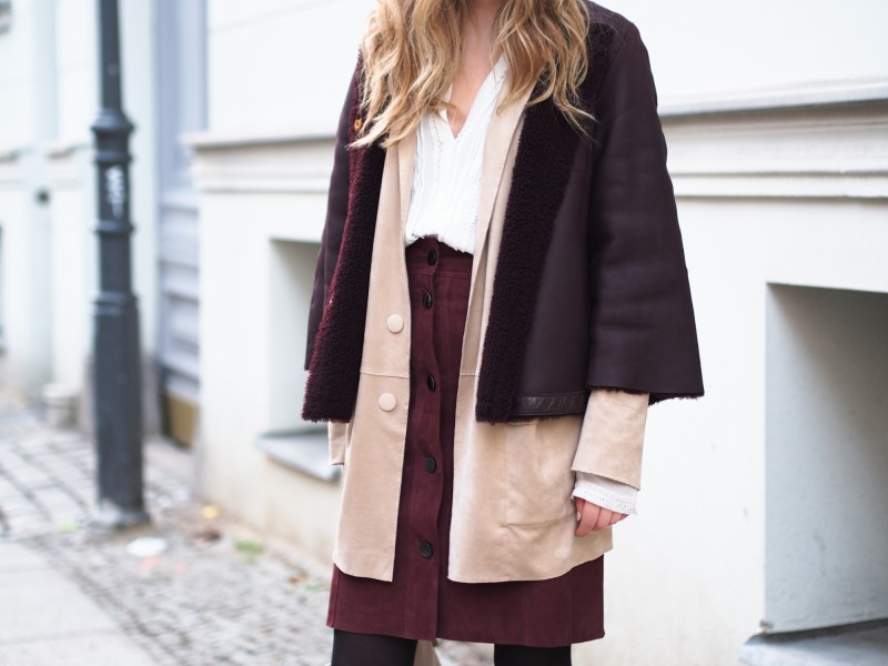 Marc cain outfit layering winter