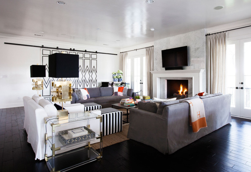 Home Tour - Colorful Living Room