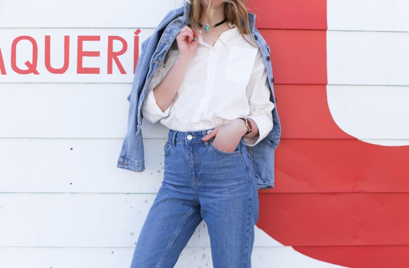 Jeans outfit Ardene and topshop