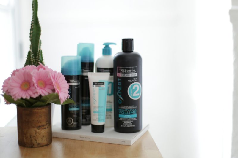 tresemme beauty full volume products