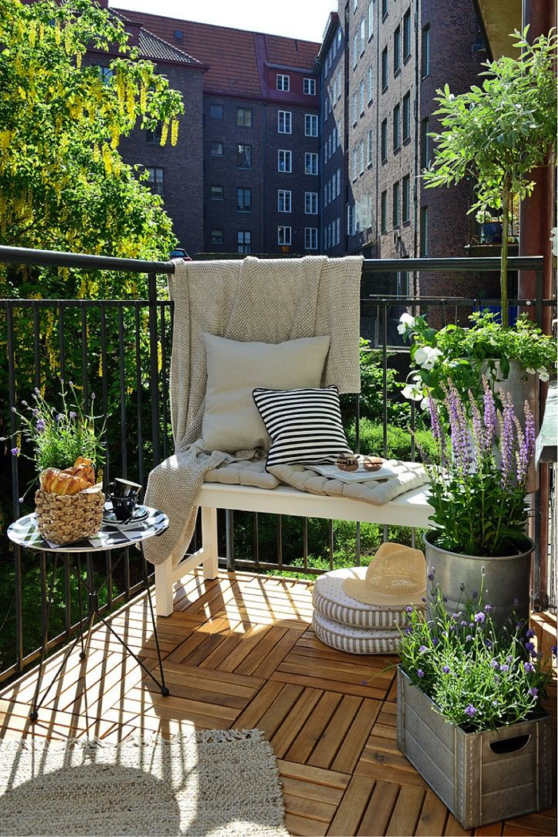 Small Balcony Styling Ideas