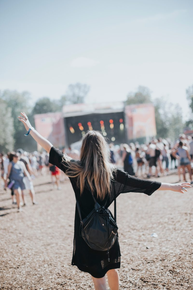fashion music festival Aritzia Osheaga