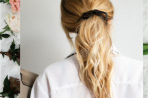 How to create the perfect date night ponytail