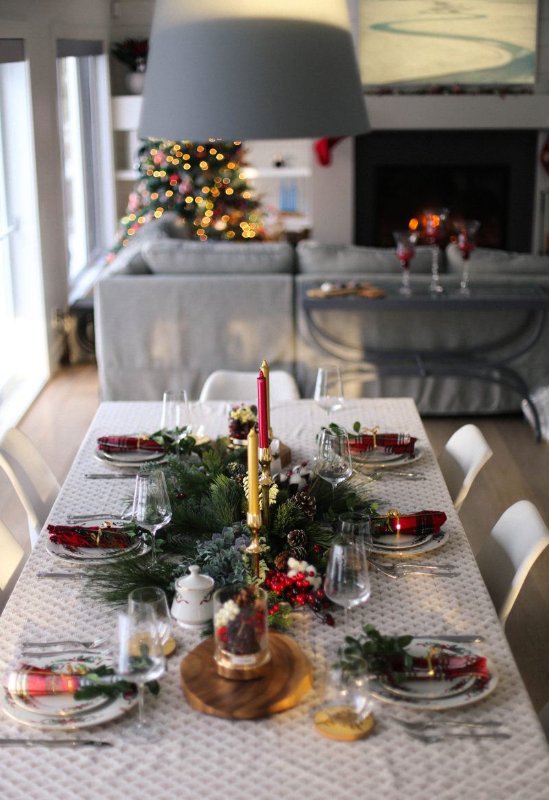 How to set up a perfect Holiday table & How to set up a perfect Holiday tableDentelle+Fleurs