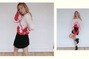 Styling 20 outfits using only 8 pieces